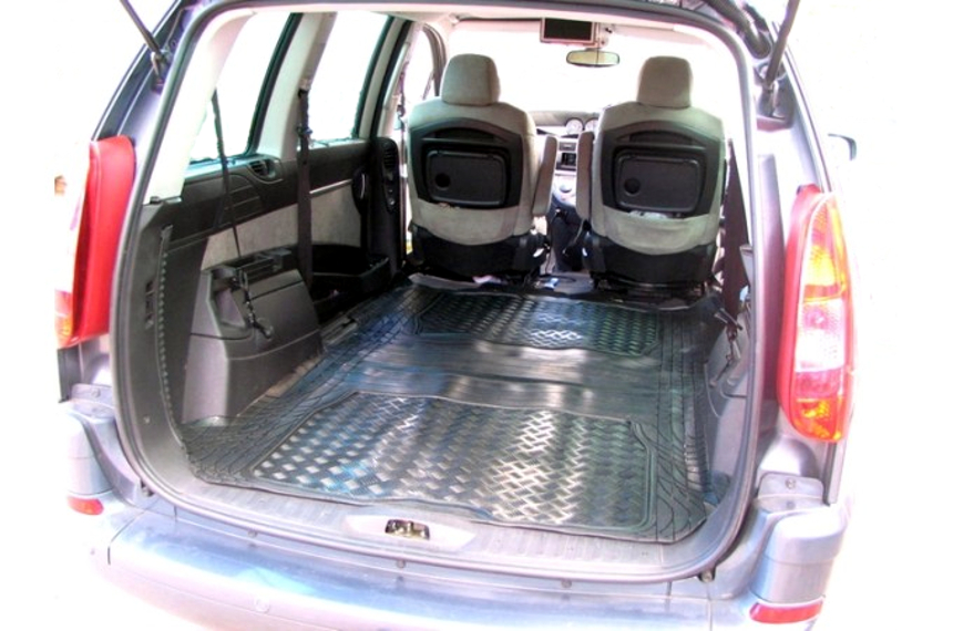 citroen c8 2002 2013 rubber car boot mat and cargo area mat and loading mat ebay. Black Bedroom Furniture Sets. Home Design Ideas