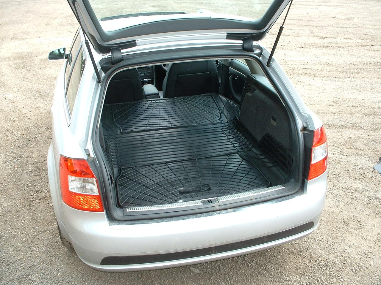 Audi a4 avant boot liner ebay 10