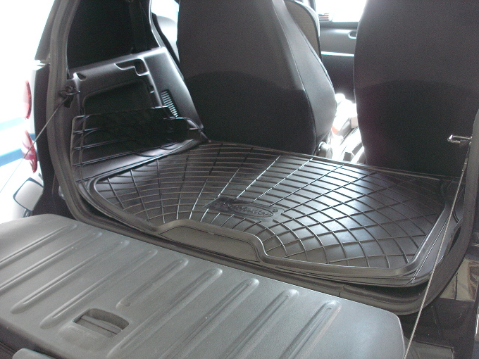 Mercedes W451 Smart Fortwo 07 On Genuine Rubber Boot Load Liner Dog Mat Guard Ebay